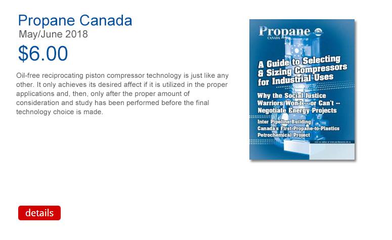 Propane Canada March April 2018