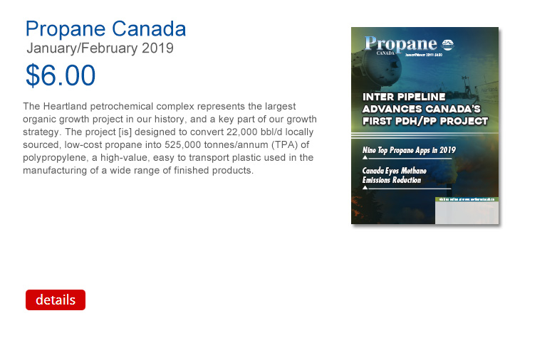 Propane Canada March April 2018