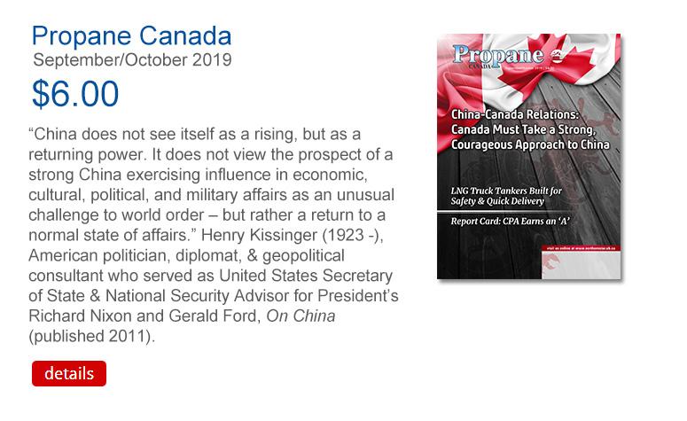 Propane Canada September October 2019