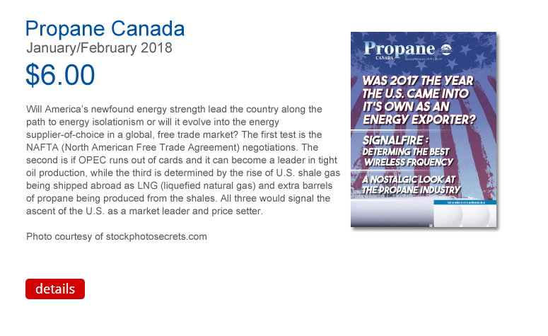 Propane Canada January February 2018